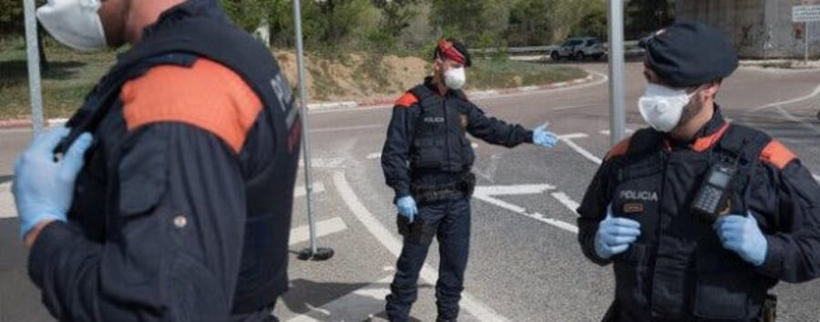 Spanish Authorities Arrest More than 1000 People For Breaking Lockdown Rules: Articles   Spanish Authorities Arrest More than 1000 People For Breaking Lockdown Rules