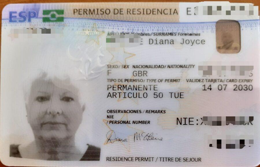 TIE Cards In Spain: Information | TIE Cards In Spain
